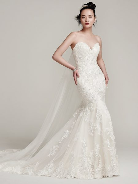 Fit And Flare Wedding Dress by Sottero and Midgley - Image 1