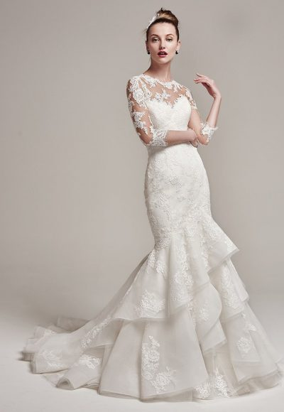 Mermaid Wedding Dress by Sottero and Midgley