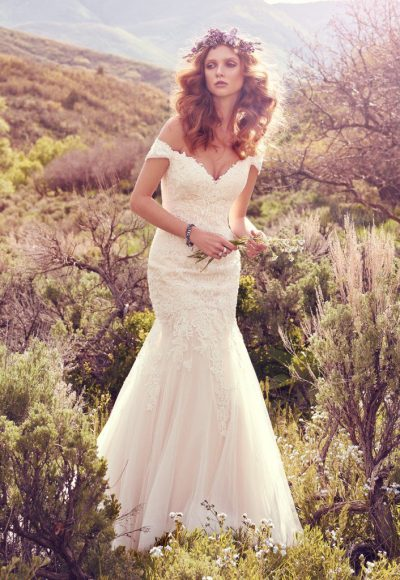Mermaid Wedding Dress by Maggie Sottero