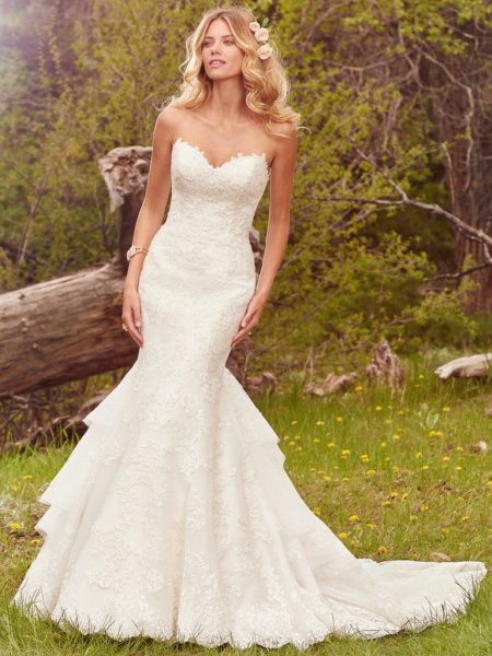 Mermaid Wedding Dress by Maggie Sottero - Image 1