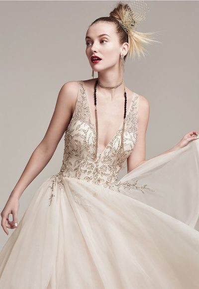 Modern A-line Wedding Dress by Sottero and Midgley