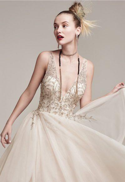 Modern A-line Wedding Dress by Sottero and Midgley