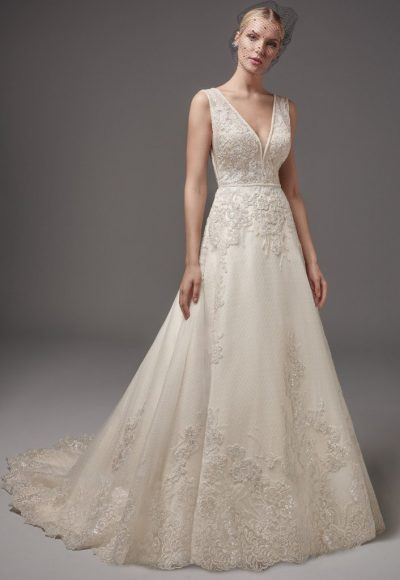 Romantic A-line Wedding Dress by Sottero and Midgley