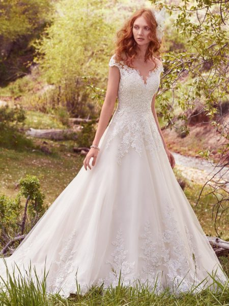 61e921d351a Romantic Ball Gown Wedding Dress by Maggie Sottero - Image 1