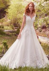 Romantic Ball Gown Wedding Dress by Maggie Sottero - Image 1