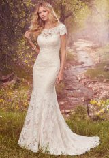 Romantic Fit And Flare Wedding Dress by Maggie Sottero - Image 1