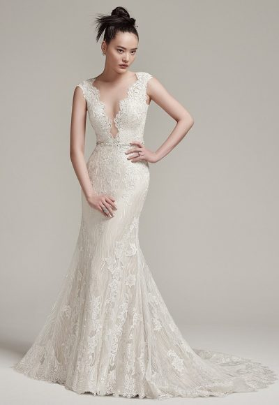 Sexy Sheath Wedding Dress by Sottero and Midgley