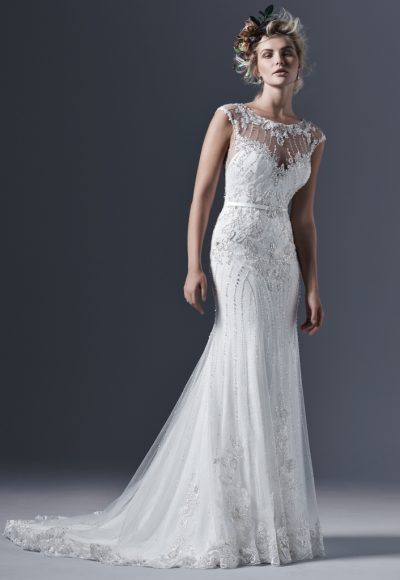 Sheath Wedding Dress by Sottero and Midgley