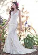 Sheath Wedding Dress by Maggie Sottero - Image 1