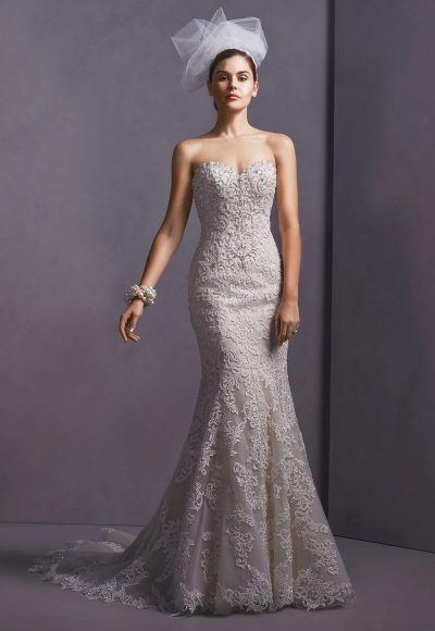 Trendy Fit And Flare Wedding Dress by Sottero and Midgley