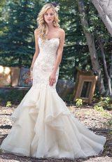 Trendy Mermaid Wedding Dress by Maggie Sottero - Image 1