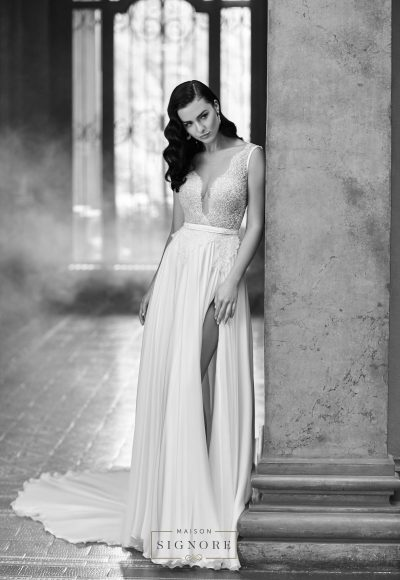 A-Line Wedding Dress by Maison Signore