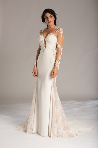 Sexy Sheath Wedding Dress by Maison Signore - Image 1