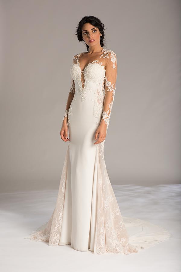 Sexy Sheath Wedding Dress | Kleinfeld Bridal