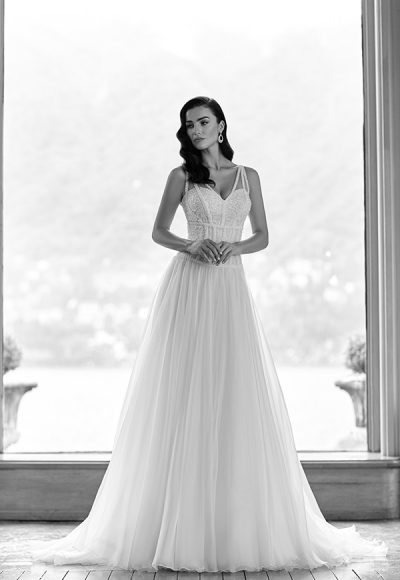 Sexy Sheath Wedding Dress by Maison Signore