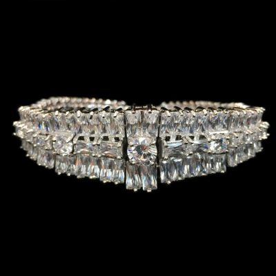 Crystal Bracelet Silver by Malis Henderson Headpieces & Accessories