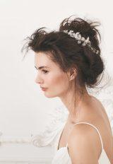Crystal Bridal Headpiece In Silver - Image 1