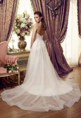 Romantic A-line Wedding Dress by Mikaella - Image 1