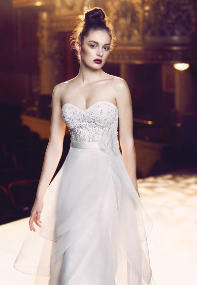 Romantic A-line Wedding Dress by Paloma Blanca