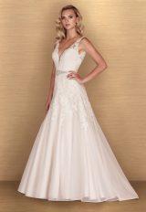 Romantic Ball Gown Wedding Dress by Paloma Blanca - Image 1