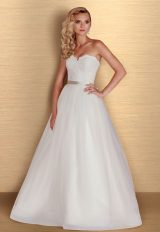 Romantic Ball Gown Wedding Dress by Paloma Blanca - Image 1