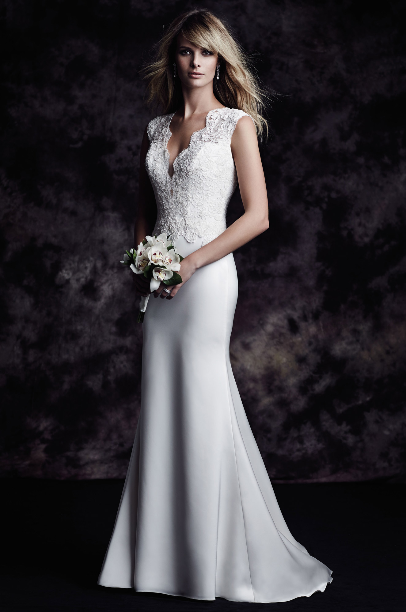 Romantic Fit And Flare Wedding Dress