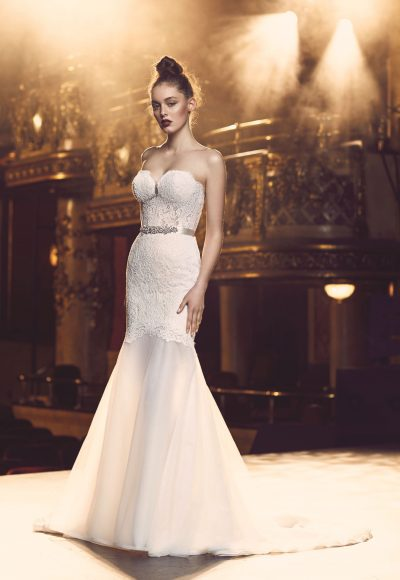 Romantic Mermaid Wedding Dress by Paloma Blanca