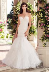 Romantic Mermaid Wedding Dress by Paloma Blanca - Image 1