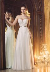 Simple A-line Wedding Dress by Paloma Blanca - Image 1