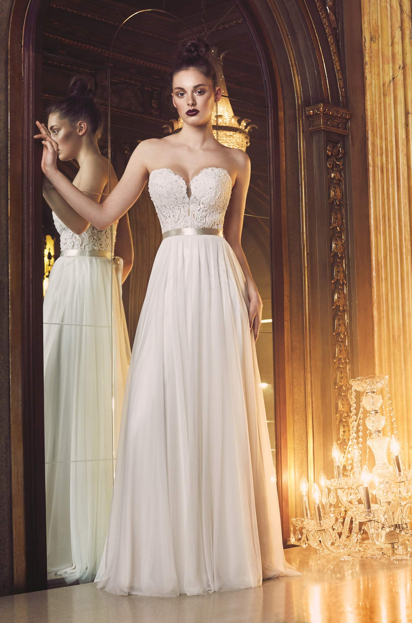 Simple A-line Wedding Dress | Kleinfeld Bridal