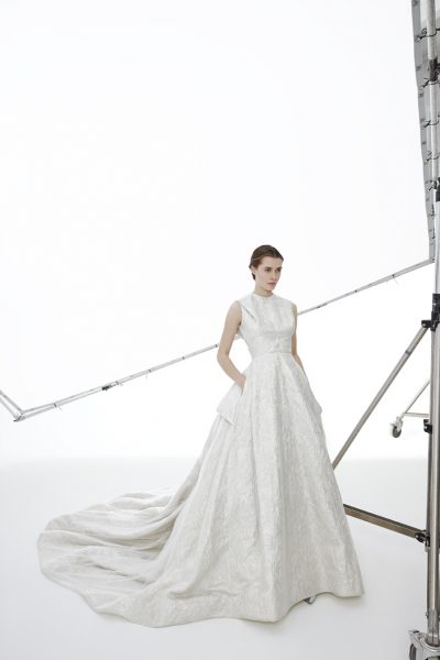A-Line Wedding Dress by Peter Langner - Image 1