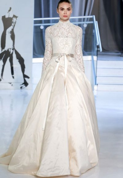 Romantic Ball Gown Wedding Dress by Peter Langner