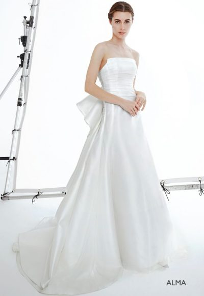 Simple A-line Wedding Dress by Peter Langner
