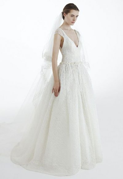 Simple Ball Gown Wedding Dress