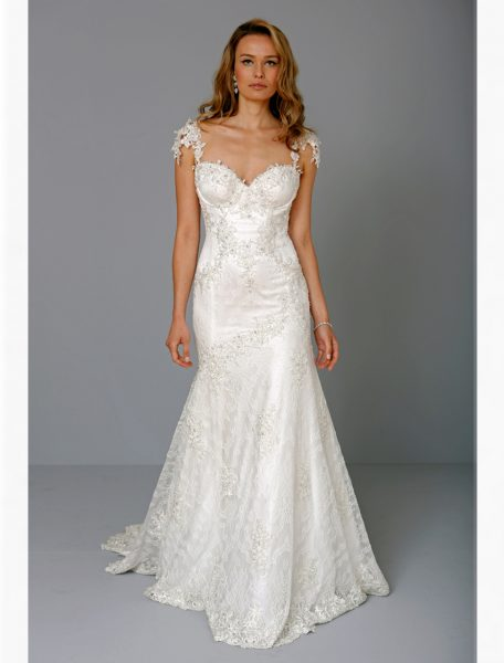 Pnina Tornai One Shoulder Wedding Dress