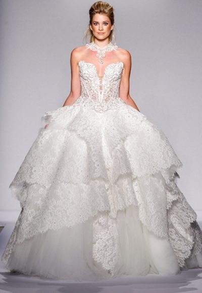 Ball Gown Wedding Dress by Pnina Tornai