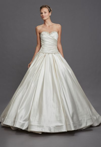 Classic Ball Gown Wedding Dress by Pnina Tornai