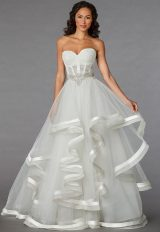 Classic Ball Gown Wedding Dress by Pnina Tornai - Image 1