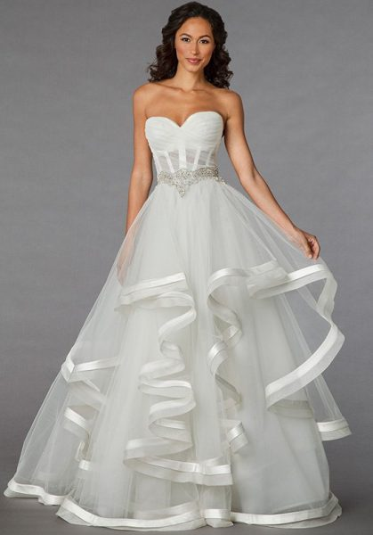 Classic ball gown wedding dress kleinfeld bridal classic ball gown wedding dress by pnina tornai image 1 junglespirit Choice Image