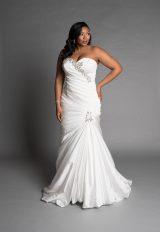 Classic Mermaid Wedding Dress by Pnina Tornai - Image 1