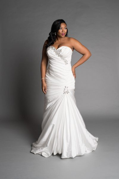Classic mermaid wedding dress kleinfeld bridal classic mermaid wedding dress by pnina tornai image 1 junglespirit Gallery