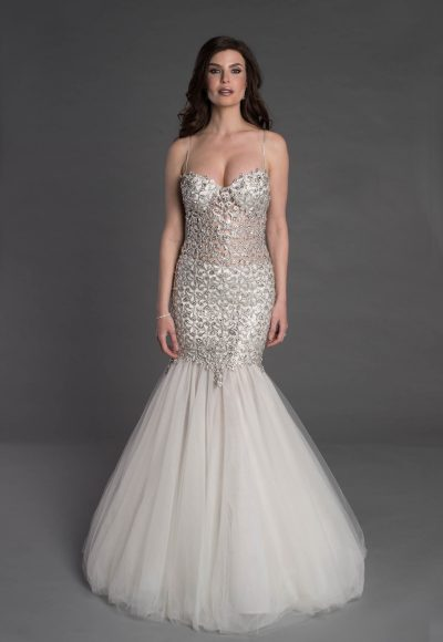 Couture Mermaid Wedding Dress by Pnina Tornai