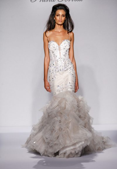 Mermaid Wedding Dress by Pnina Tornai