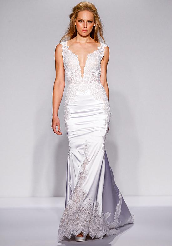 Mermaid wedding dress kleinfeld bridal for Kleinfeld wedding dresses with sleeves