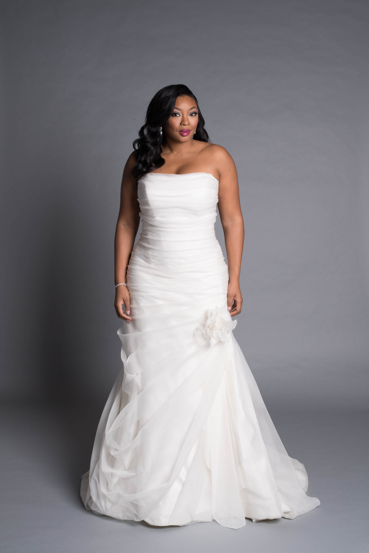 Modern A Line Wedding Dress Kleinfeld Bridal