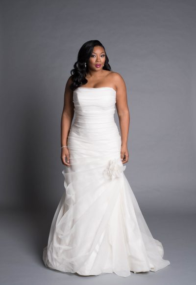 Modern A-line Wedding Dress