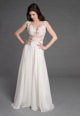 Romantic A-line Wedding Dress by Pnina Tornai - Image 1