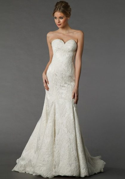 Sexy A-line Wedding Dress by Pnina Tornai - Image 1