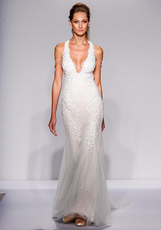 Y Mermaid Wedding Dress By Pnina Tornai Image 1 Zoomed In