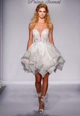 Sexy Short Wedding Dress by Pnina Tornai - Image 1